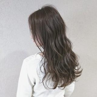 愛され ゆるふわ ロング アンニュイ ヘアスタイルや髪型の写真・画像