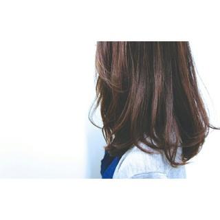 大人女子 フェミニン ニュアンス ナチュラル ヘアスタイルや髪型の写真・画像