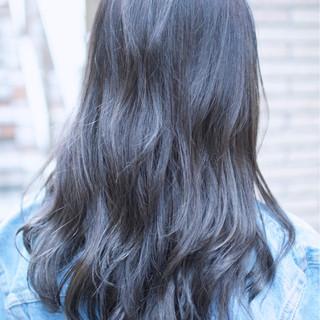 ガーリー ダブルカラー ハイライト ブルージュ ヘアスタイルや髪型の写真・画像