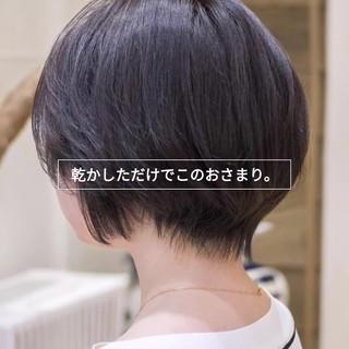 ショートカット ショートボブ マッシュショート ショート ヘアスタイルや髪型の写真・画像