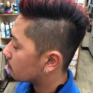 前髪なし モテ髪 ショート ボーイッシュ ヘアスタイルや髪型の写真・画像