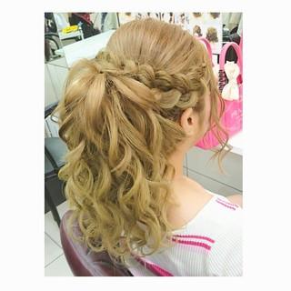 上品 エレガント デート 結婚式 ヘアスタイルや髪型の写真・画像