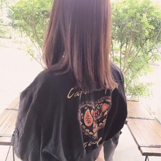 伸ばしかけ 大人かわいい セミロング ミディアム ヘアスタイルや髪型の写真・画像