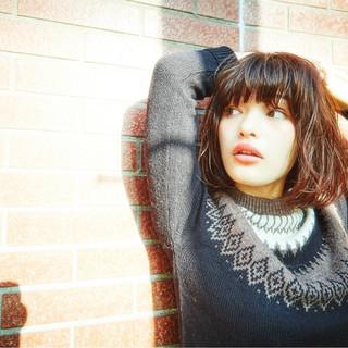 簡単 ゆるふわ 外国人風 パーマ ヘアスタイルや髪型の写真・画像