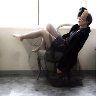 冬 アウトドア モード 大人女子 ヘアスタイルや髪型の写真・画像