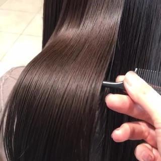 艶髪 トリートメント ナチュラル ロング ヘアスタイルや髪型の写真・画像