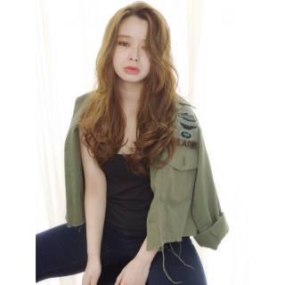 モテ髪 パーマ ストリート 外国人風カラー ヘアスタイルや髪型の写真・画像