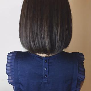 モード ブリーチなし ショコラブラウン パープル ヘアスタイルや髪型の写真・画像