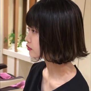 ピュア 外ハネ 透明感 デート ヘアスタイルや髪型の写真・画像
