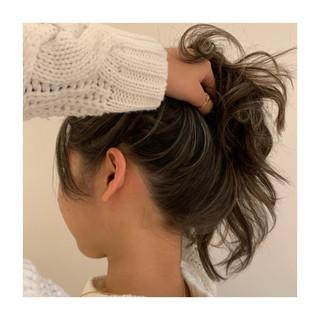 ジェシカライツカラー コントラストハイライト 大人ハイライト ロング ヘアスタイルや髪型の写真・画像