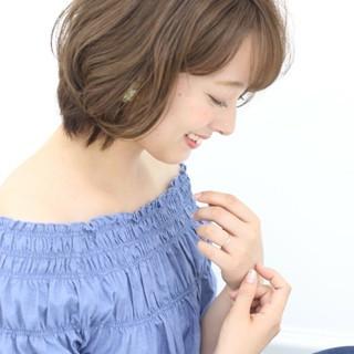 愛され モテ髪 大人かわいい アッシュ ヘアスタイルや髪型の写真・画像