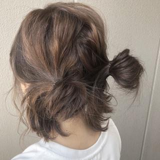 ヘアアレンジ 夏 涼しげ 大人かわいい ヘアスタイルや髪型の写真・画像