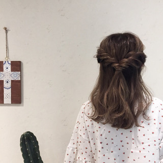 ナチュラル 色気 簡単ヘアアレンジ 夏 ヘアスタイルや髪型の写真・画像