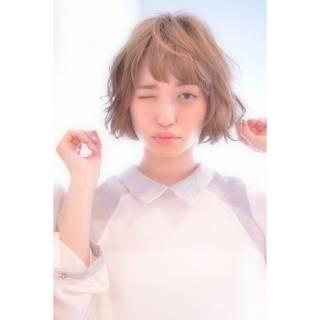 外国人風 春 パーマ モテ髪 ヘアスタイルや髪型の写真・画像