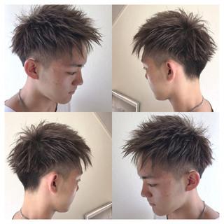 ストリート アウトドア ショート アンニュイ ヘアスタイルや髪型の写真・画像