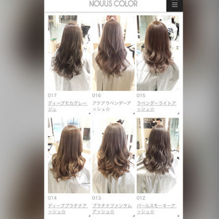 大人かわいい セミロング ヘアアレンジ 渋谷系 ヘアスタイルや髪型の写真・画像