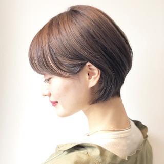 ショートボブ ショートヘア 小顔ショート デート ヘアスタイルや髪型の写真・画像