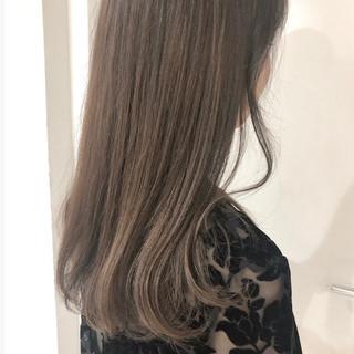 グラデーションカラー 暗髪 暗髪女子 エレガント ヘアスタイルや髪型の写真・画像