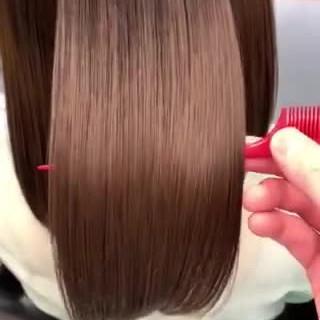 髪質改善 ナチュラル 髪質改善トリートメント 透明感カラー ヘアスタイルや髪型の写真・画像