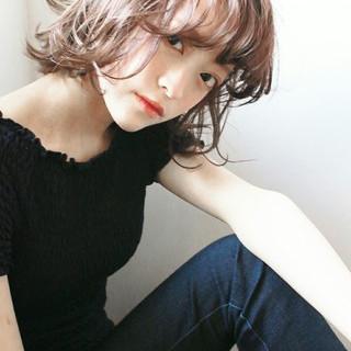 外国人風 ハイトーン アッシュ ストリート ヘアスタイルや髪型の写真・画像