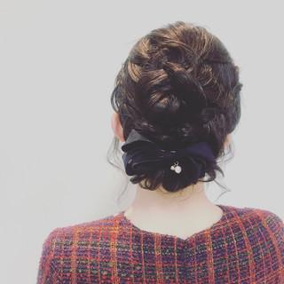 デート ナチュラル 謝恩会 結婚式 ヘアスタイルや髪型の写真・画像