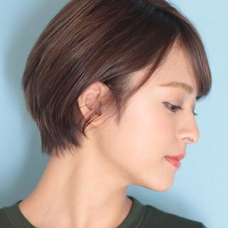 ショート ショートヘア デート ショートボブ ヘアスタイルや髪型の写真・画像