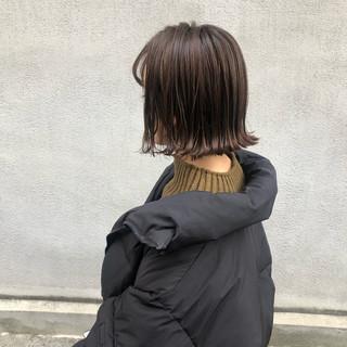簡単ヘアアレンジ アンニュイほつれヘア ボブ 透明感 ヘアスタイルや髪型の写真・画像