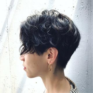 パーマ 大人かわいい 外国人風 ストリート ヘアスタイルや髪型の写真・画像