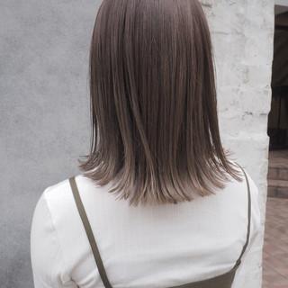 秋 ナチュラル リラックス ハイライト ヘアスタイルや髪型の写真・画像