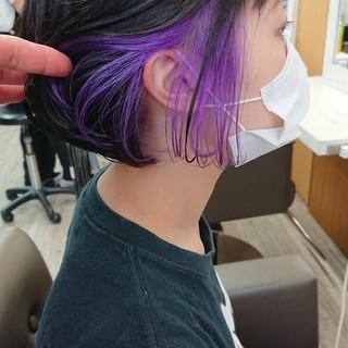 ショートヘア ショートボブ ボブ ストリート ヘアスタイルや髪型の写真・画像