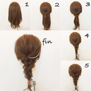 大人女子 ミディアム ナチュラル デート ヘアスタイルや髪型の写真・画像