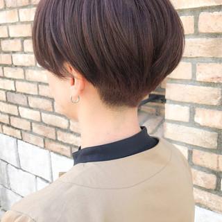 刈り上げ女子 ベリーショート ショート モード ヘアスタイルや髪型の写真・画像