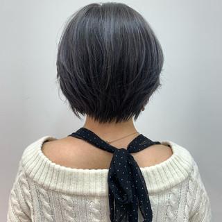 ショート ナチュラル ショートヘア 大人女子 ヘアスタイルや髪型の写真・画像