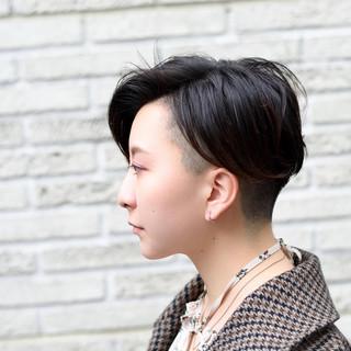 ショートヘア ベリーショート 外国人風 ショート ヘアスタイルや髪型の写真・画像