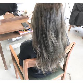 黒髪 デート インナーカラー 女子会 ヘアスタイルや髪型の写真・画像