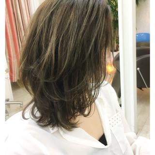 大人女子 レイヤーカット ナチュラル 大人かわいい ヘアスタイルや髪型の写真・画像