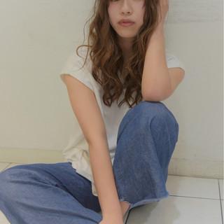 おフェロ ロング 色気 大人女子 ヘアスタイルや髪型の写真・画像