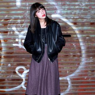 暗髪 外国人風 黒髪 ブルージュ ヘアスタイルや髪型の写真・画像