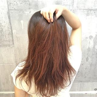 セミロング 外国人風カラー ナチュラル 透明感 ヘアスタイルや髪型の写真・画像