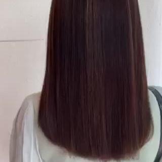 ナチュラル 髪質改善 美髪 ロング ヘアスタイルや髪型の写真・画像