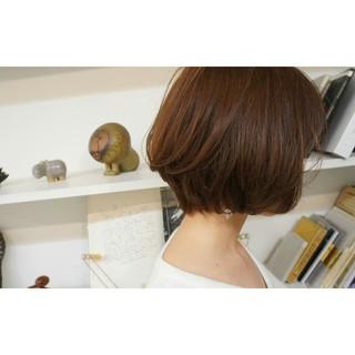 色気 ショートボブ 小顔 大人女子 ヘアスタイルや髪型の写真・画像