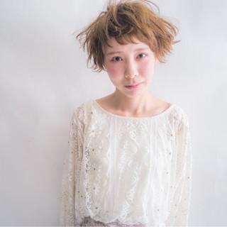 ストリート ハイトーン 外国人風 大人かわいい ヘアスタイルや髪型の写真・画像