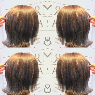 ハイライト アッシュベージュ ヘアアレンジ ナチュラル ヘアスタイルや髪型の写真・画像