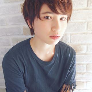 大人かわいい ブリーチ ショート パーマ ヘアスタイルや髪型の写真・画像