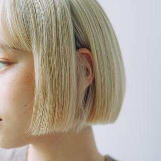 パーマ ボブ ミニボブ モテボブ ヘアスタイルや髪型の写真・画像