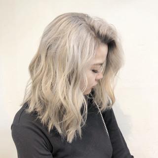 ユニコーンカラー インナーカラー ハイライト ボブ ヘアスタイルや髪型の写真・画像
