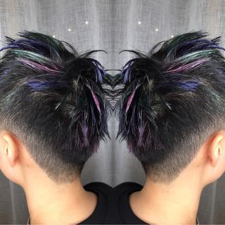 ハイライト アウトドア スポーツ ストリート ヘアスタイルや髪型の写真・画像