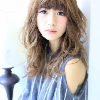セミロング フェミニン モテ髪 コンサバ ヘアスタイルや髪型の写真・画像