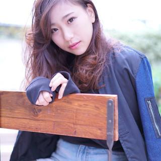 ヘアアレンジ セミロング 渋谷系 大人かわいい ヘアスタイルや髪型の写真・画像