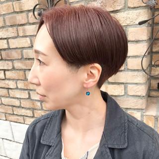 刈り上げショート ショート モード 刈り上げ女子 ヘアスタイルや髪型の写真・画像